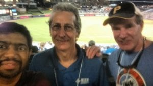 ENCS enjoying a baseball game